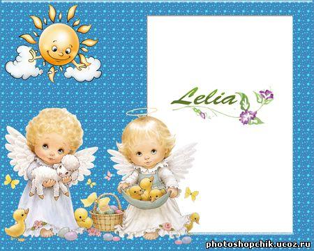 Рамка С Ангелочками