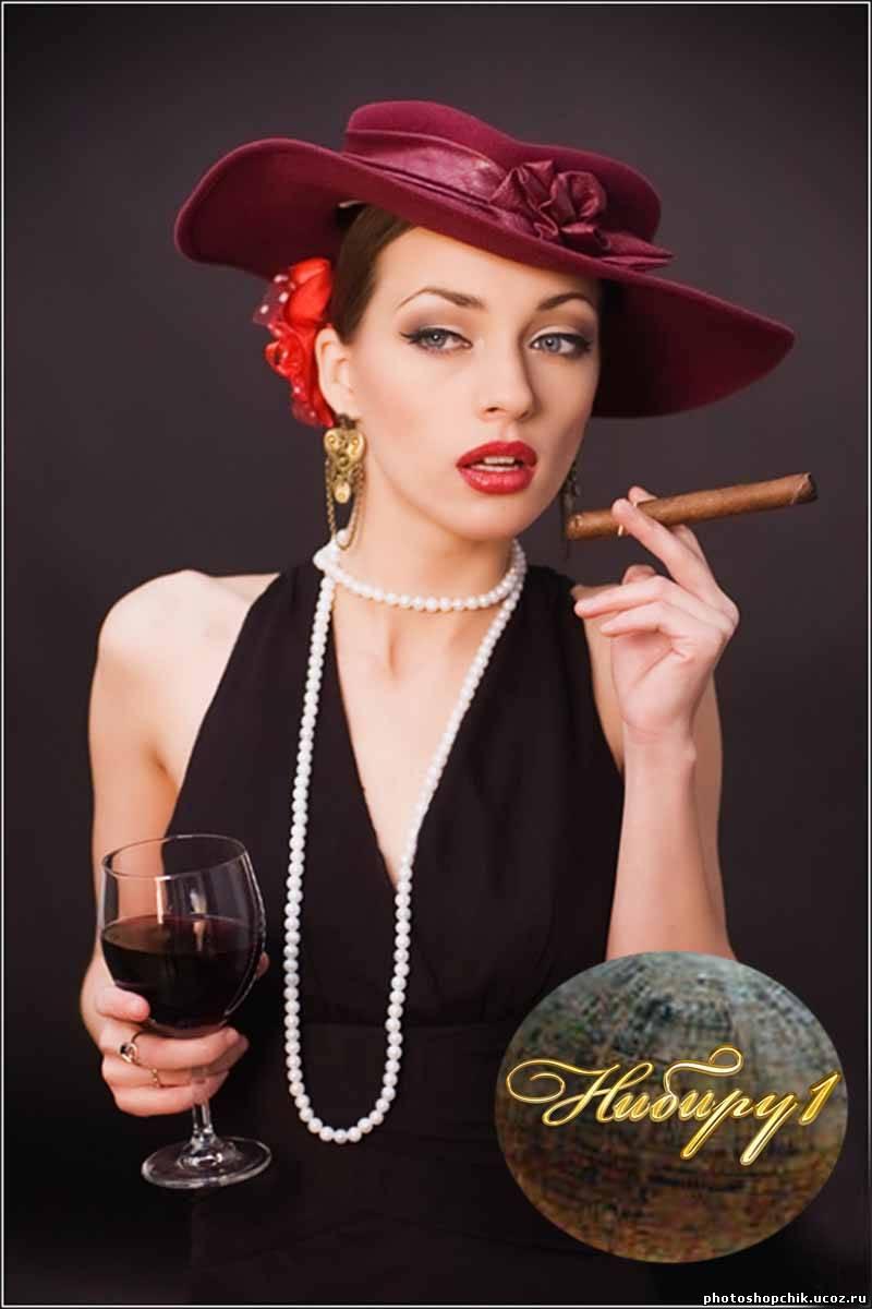 Просмотр изображений по теме: девушка в шляпе вектор